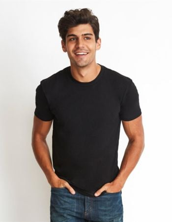 Next Level Mens Fitted Cotton T Shirt Thumbnail