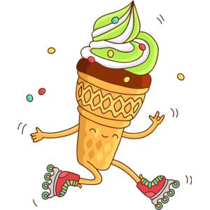 Ice Cream Skating Thumbnail
