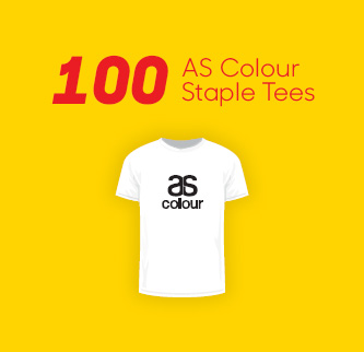 100 AS Colour Staple Tees