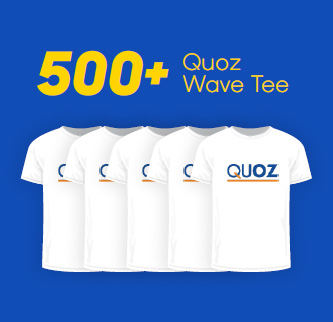 500+ Quoz Wave Tee